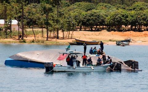The death toll after the capsized in Lake Victoria has risen to more than 207 - Credit: AFP
