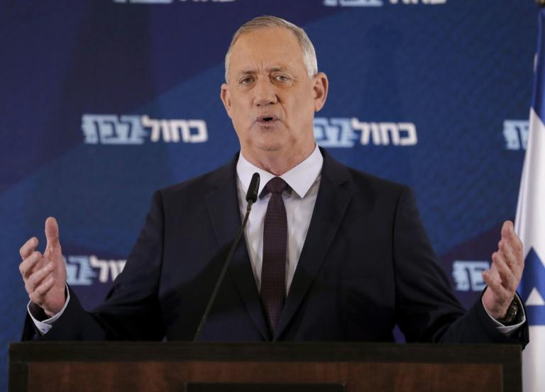 Israel's ex-military chief Benny Gantz won recommendations on Sunday from a thin majority of lawmakers to form a coalition government after almost a year of political paralysis in Israel