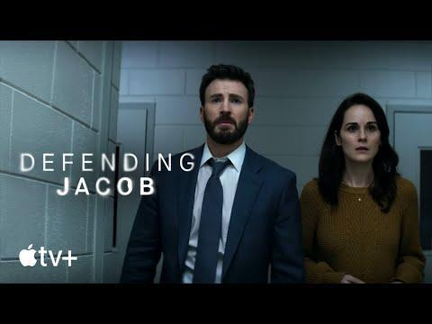 """<p>Chris Evans and Michelle Dockery star in this acclaimed miniseries about parents who are struggling with what to do when their teenaged son becomes the main suspect in a murder trial. For anyone who was skeptical if Evans had the range following his Marvel stint, take a minute to watch this. Oh, and <em>Knives Out</em>.<em> —<em>Justin Kirkland</em></em></p><p><a class=""""link rapid-noclick-resp"""" href=""""https://go.redirectingat.com?id=74968X1596630&url=https%3A%2F%2Ftv.apple.com%2Fus%2Fshow%2Fdefending-jacob%2Fumc.cmc.5h5mr0shyyqqahqdv55ywyilr&sref=https%3A%2F%2Fwww.redbookmag.com%2Flife%2Fg36916425%2Fbest-apple-tv-plus-shows%2F"""" rel=""""nofollow noopener"""" target=""""_blank"""" data-ylk=""""slk:Watch Now"""">Watch Now</a></p><p><a href=""""https://www.youtube.com/watch?v=XQfeoRLvfqU"""" rel=""""nofollow noopener"""" target=""""_blank"""" data-ylk=""""slk:See the original post on Youtube"""" class=""""link rapid-noclick-resp"""">See the original post on Youtube</a></p>"""