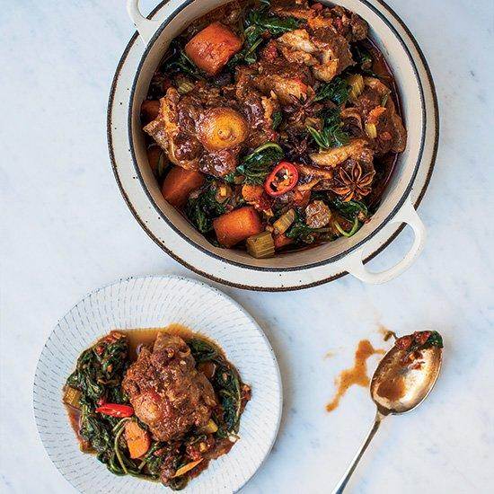 "<p>This brothy stew is succulent and soothing, but sisters Jasmine and Melissa Hemsley invigorate it with fish sauce, Asian spices and lemon juice. ""We both just love sour flavors,"" says Jasmine Hemsley. ""It's our Filipino mum's influence.""</p><p><a href=""https://www.foodandwine.com/recipes/asian-beef-stew"">GO TO RECIPE</a></p>"