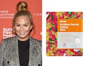 "<p>Chrissy Teigen's favorite The Leaders <a href=""http://www.ulta.com/ulta/browse/productDetail.jsp?productId=xlsImpprod12951099"" rel=""nofollow noopener"" target=""_blank"" data-ylk=""slk:7 Wonders Caribbean Coconut Calming Mask"" class=""link rapid-noclick-resp"">7 Wonders Caribbean Coconut Calming Mask</a> ($6) doesn't play: it's infused with 10 times the amount of coconut found in most wash-off masks, and calms irritated and red skin with bio-cellulose fibers.</p><p><i>(Photo: Getty Images/Leaders)</i><br></p>"