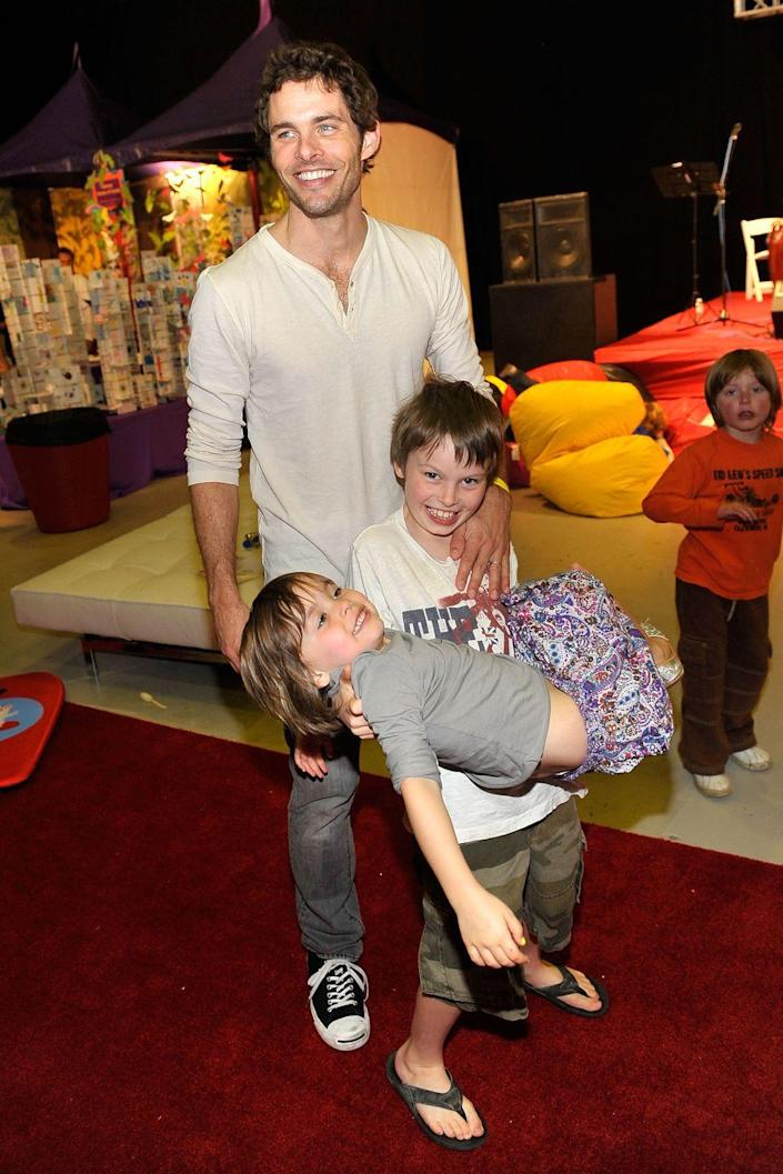 <p>The oldest of actor James Marsden's three kids, Jack, was born on February 1, 2001.</p>