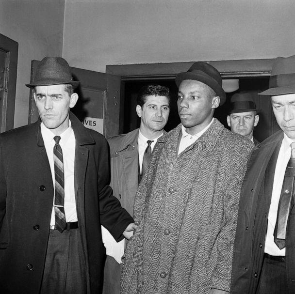 PHOTO: Police escort Norman Butler into a jail in New York. (Bettmann Archive/Getty Images, FILE)
