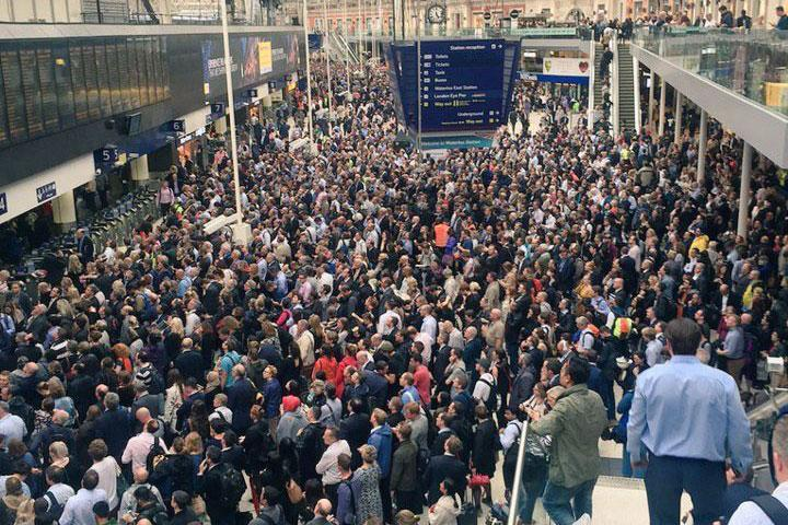 Travel disruption: Widespread rail works are taking place over Easter weekend: Twitter / @Scientits