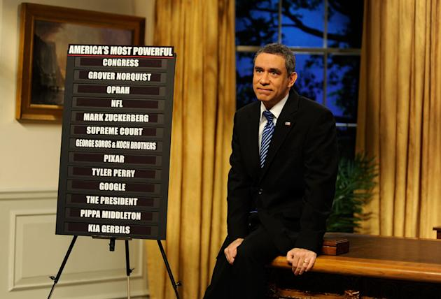 Fred Armisen as President Barack Obama on 'SNL'