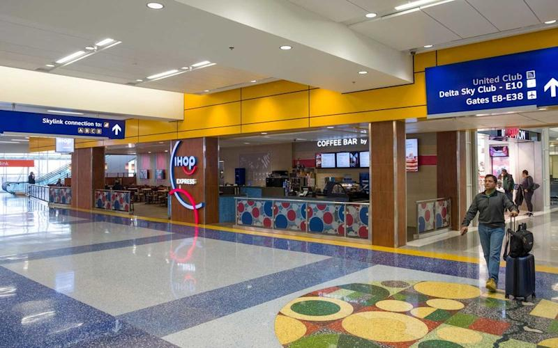 dfw airport map and terminal guide  where to eat  park