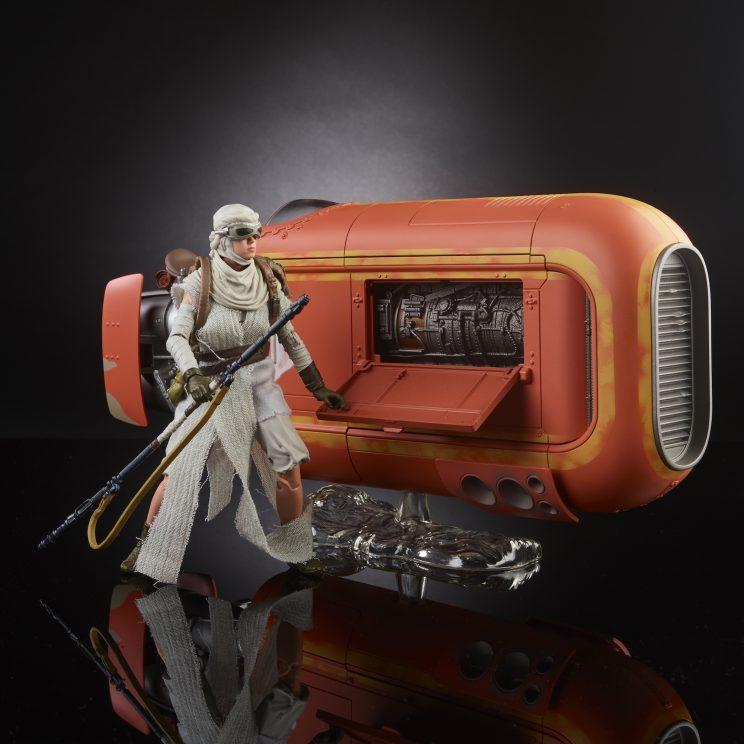 Force Awakens Rey Jakku Speeder Black Series