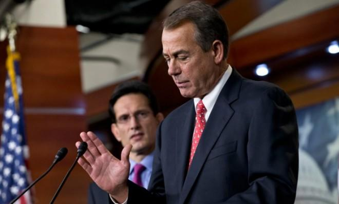 John Boehner and House Republicans are all that stand in the way of a fiscal cliff deal.