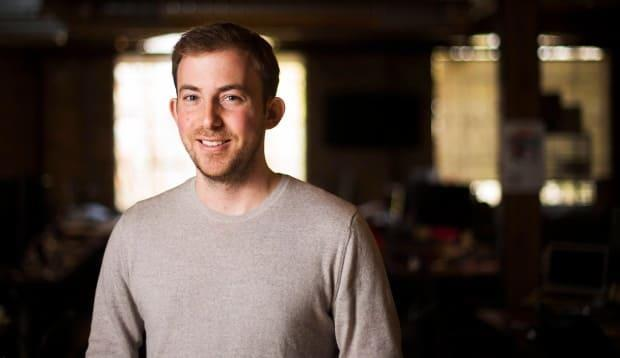 Michael Kitchen is CEO and co-founder of Wealthsimple, a Toronto based money managing firm that focuses on people 40 and under who are more comfortable with its primarily online and self-directed business model. (Nathan Denette/Canadian Press - image credit)