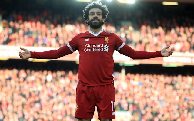 """The PFA's Premier League Team of the Year has been announced ahead of the 45th PFA Awards this Sunday and while Manchester City and Tottenham are, unsurprisingly, well represented, Liverpool - currently third in the league and through to the Champions League semi-finals - have just one man in the XI. That man is Mohamed Salah, who has scored 30 goals in the league so far this season and is many people's favourite to win the Player of the Year award, although he faces stiff competition from Man City's Kevin De Bruyne, who also make the PFA's line-up. In a 4-3-3 formation, Man Utd shot-stopper David De Gea is in goal with Kyle Walker, Jan Vertonghen, Nicolas Otamendi and Marcos Alonso - the sole player from dethroned champions Chelsea - across the back line. In the middle of the park there's David Silva, De Bruyne and Christian Eriksen, while, up front, Salah, Sergio Aguero - amazingly the first time he has ever made this list - and Harry Kane finish off the line-up. Champions Man City make up almost half of the Premier League team of the year, but the list of players missing certainly raises an eyebrow. No Roberto Firmino, no Leroy Sane, no Mousa Dembele, no Andrew Robertson. PFA Premier League Team of the Year Salah has already said helping Liverpool win the Champions League is more important than any individual award he could receive this season. The Egyptian reached the 40-goal mark across all competitions this season in Liverpool's 3-0 Premier League win over Bournemouth on Saturday and is leading the race for the European Golden Shoe. And Liverpool beat Manchester City 5-1 on aggregate this month to reach the semi-finals of the Champions League, where they will face AS Roma. """"To win the Champions League,"""" Salah said, when asked if he preferred to win the competition or an individual award. """"If you had a choice, then of course the Champions League. """"... To win the Champions League is huge for everyone. I don't care about the rest."""" The 25 year-old has scored 30 g"""