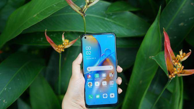 Tampilan layar Oppo A74 5G (Foto: Oppo Indonesia)