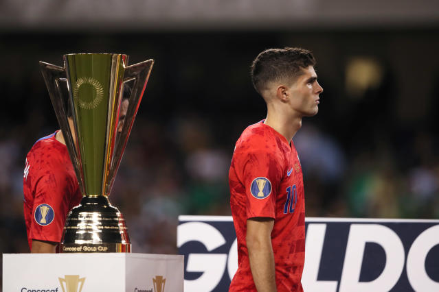Christian Pulisic and the United States finished as Gold Cup runners-up, but there's some promise for the future. (Getty)