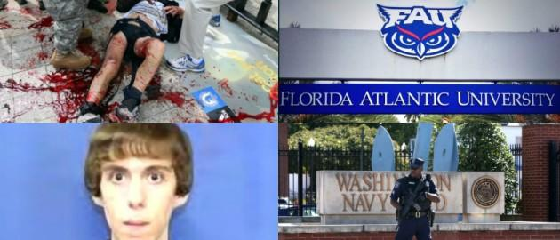 FAU. Photos (clockwise from top left): Getty Images/ John Tlumacki, Twitter/Florida Atlantic University, Getty Images, Getty Images/Mark Wilson