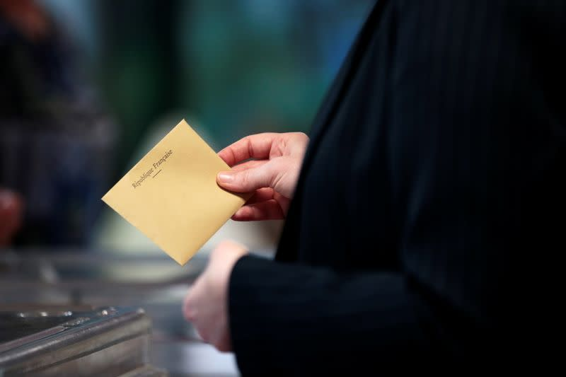 Second round of French regional and departmental elections in Velizy-Villacoublay