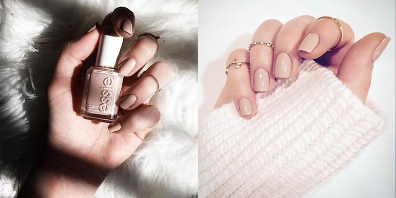 The Most-Pinned Nude Nail Polish Isn't Essie Ballet Slippers