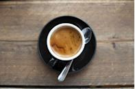 """<p>While drinking coffee each day certainly isn't going to completely eliminate your chances of getting Alzheimer's, it may help. One <a href=""""https://www.express.co.uk/life-style/health/737870/Three-cups-coffee-day-reduce-risk-Alzheimers-disease-quarter"""" rel=""""nofollow noopener"""" target=""""_blank"""" data-ylk=""""slk:study"""" class=""""link rapid-noclick-resp"""">study</a> found that drinking a moderate amount of caffeine can help protect the brain against rogue proteins that destroy neurons. Coffee is also high in anti-inflammatory chemicals and antioxidants that may boost cognitive function. </p>"""
