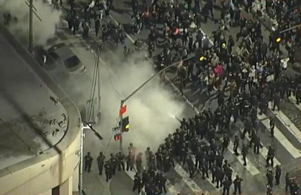 LAPD Arrests More Than 500 People After Friday Protests Result in Battery on Police, Vandalism and Looting