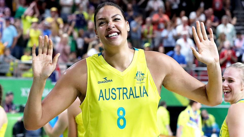 Liz Cambage withdrew from the Olympics after citing mental health concerns. Pic: Getty