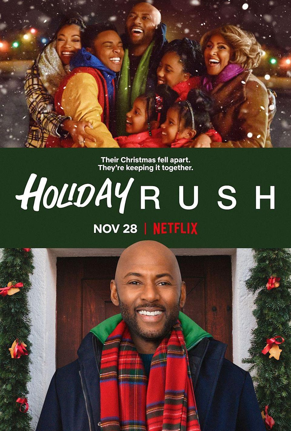 """<p>In this holiday flick, a popular radio DJ unexpectedly loses his job and must move in with his aunt to get back on his feet, though his four spoiled children still expect him to fulfill all the demands on their Christmas wish lists. </p><p><a class=""""link rapid-noclick-resp"""" href=""""https://www.netflix.com/title/81033086"""" rel=""""nofollow noopener"""" target=""""_blank"""" data-ylk=""""slk:STREAM NOW"""">STREAM NOW</a></p>"""