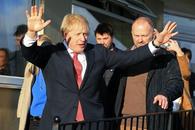 Prime Minister Boris Johnson visited Sedgefield after his election victory in 2019 - one of a number of his gains in the North East