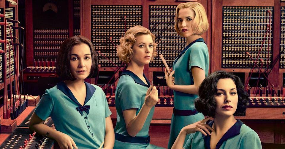 "<p>In 1920s Spain, four women are on the vanguard of the workforce: Working for Spain's brand-new telephone service. <em>Cable Girls </em>is a gripping drama with many a-cliffhanger, and it's also a fascinating picture of women and economic mobility over the ages.</p><p><a class=""link rapid-noclick-resp"" href=""https://www.netflix.com/title/80100929"" rel=""nofollow noopener"" target=""_blank"" data-ylk=""slk:Watch Now"">Watch Now</a></p>"
