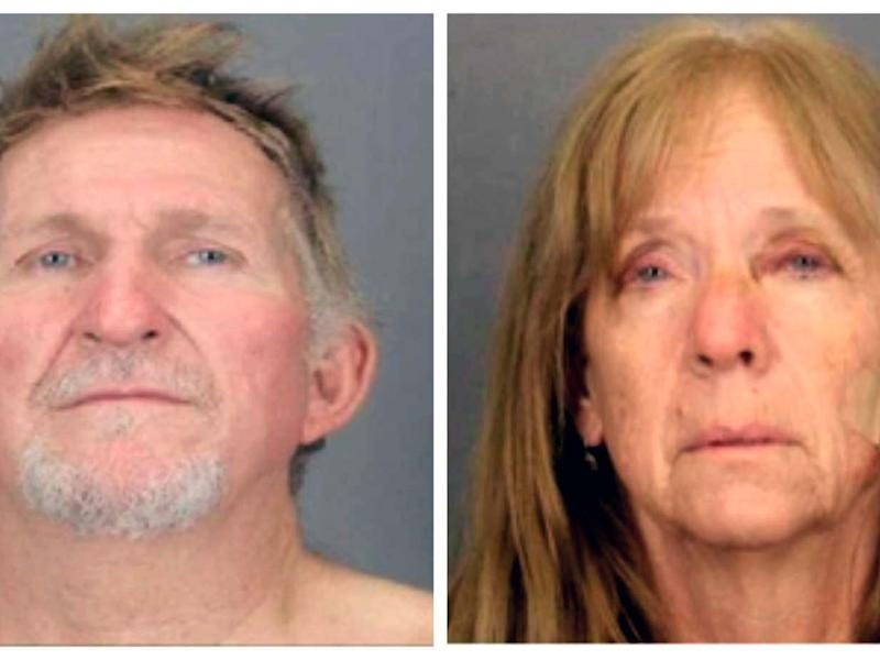 Blane Barksdale, 56, and Susan Barksdale, 59, are wanted in connection with the murder of Frank Bligh, 72, in Tuscon, Arizona: Tucson Police Department via AP