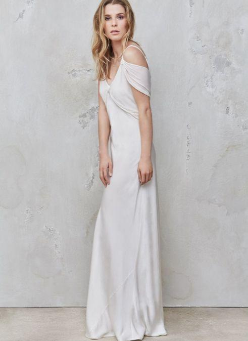 "<p>We haven't met anyone who wouldn't want to get wed in one of <a href=""https://www.ghost.co.uk/wedding-dresses"" rel=""nofollow noopener"" target=""_blank"" data-ylk=""slk:Ghost"" class=""link rapid-noclick-resp"">Ghost</a>'s ivory, silky maxis. And better yet, the brand also has a to-dye-for range of dye-to-order bridesmaid dresses to complete your wedding look.</p><p><a class=""link rapid-noclick-resp"" href=""https://go.redirectingat.com?id=127X1599956&url=https%3A%2F%2Fwww.ghost.co.uk%2Fsana_dress_ivory-dt46ca-m12&sref=http%3A%2F%2Fwww.cosmopolitan.com%2Fuk%2Ffashion%2Fstyle%2Fg4924%2Fhigh-street-brands-that-sell-wedding-dresses%2F"" rel=""nofollow noopener"" target=""_blank"" data-ylk=""slk:BUY NOW"">BUY NOW</a> Sana dress, £395 </p>"