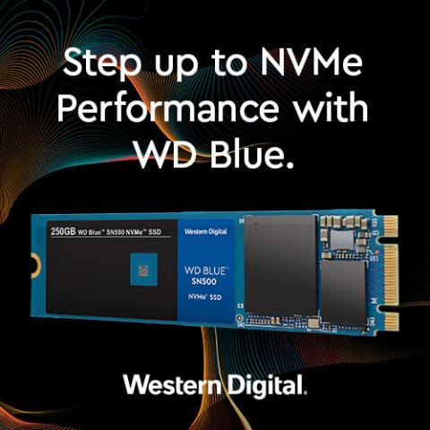 Western Digital's Award-Winning WD Blue SSD Goes NVMe