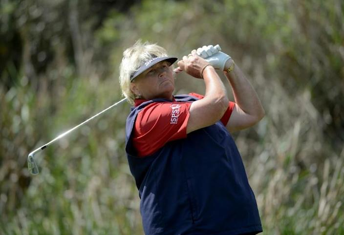Laura Davies made her pro golf debut in 1985 (AFP Photo/DONALD MIRALLE)