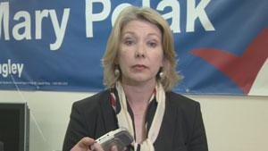 B.C. Liberal candidate Mary Polak says she wanted Todd Hauptman to stay on as her campaign manager.