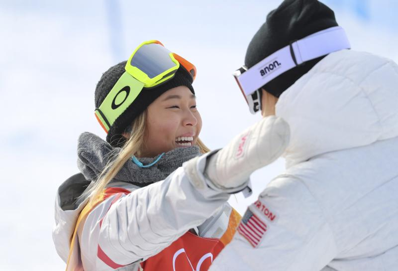 Chloe Kim's coronation is complete as rising US star wins halfpipe gold in Pyeongchang
