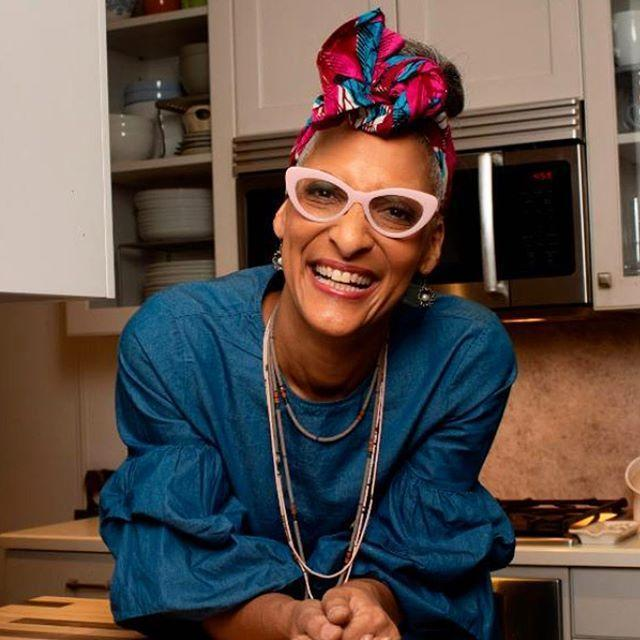 """<p>Chances are you know Carla Hall from shows like <em>The Chew</em> and <em>Top Chef</em>. Still, if you're not yet following her on social, too, you're missing out on soul food recipes, cooking experiments, and updates on where she's appearing next.</p><p><a href=""""https://www.instagram.com/p/B_lXbCACNQx/"""" rel=""""nofollow noopener"""" target=""""_blank"""" data-ylk=""""slk:See the original post on Instagram"""" class=""""link rapid-noclick-resp"""">See the original post on Instagram</a></p>"""