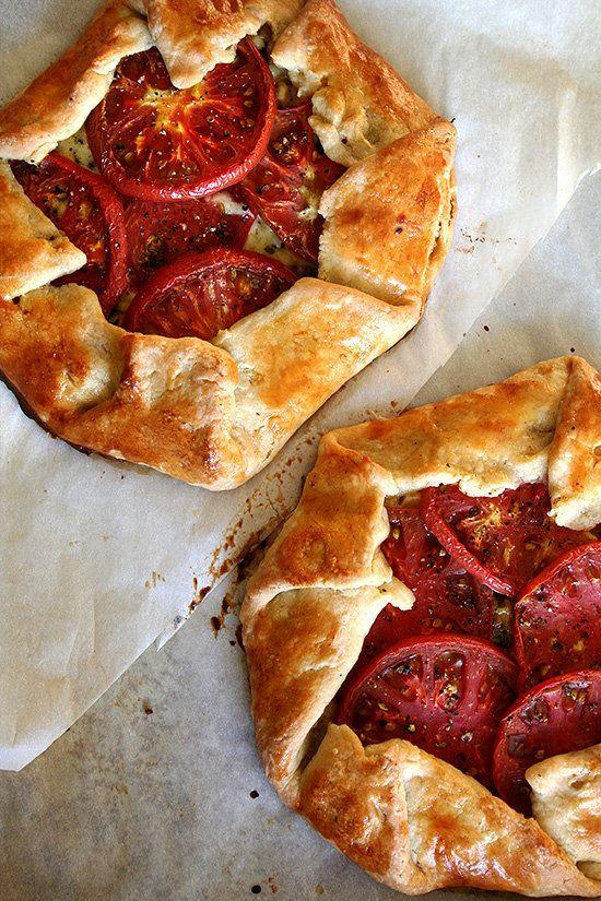 "<p><strong>Get the <a href=""http://www.alexandracooks.com/2009/09/21/tomato-corn-cheese-galette-a-favorite-summer-meal-with-a-chocolate-chip-cookie-for-dessert/"" target=""_blank"">Tomato, Corn and Cheese Galette with Fresh Basil recipe</a> from Alexandra Cooks</strong></p>"