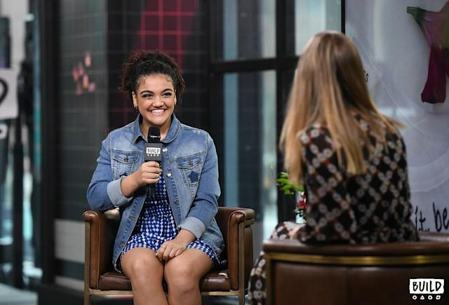 Laurie Hernandez. (Photo: BUILD)
