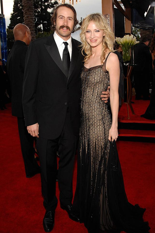 "<a href=""/jason-lee/contributor/29390"">Jason Lee</a> and Beth Riesgraf at the <a href=""/the-2007-screen-actors-guild-awards/show/40550"">13th Annual Screen Actors Guild Awards</a>."
