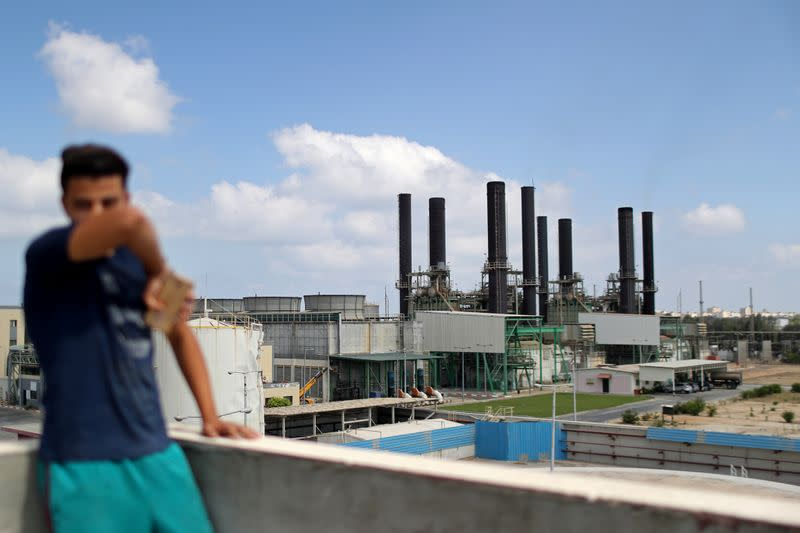 Gaza's lone power plant shuts down amid tension with Israel