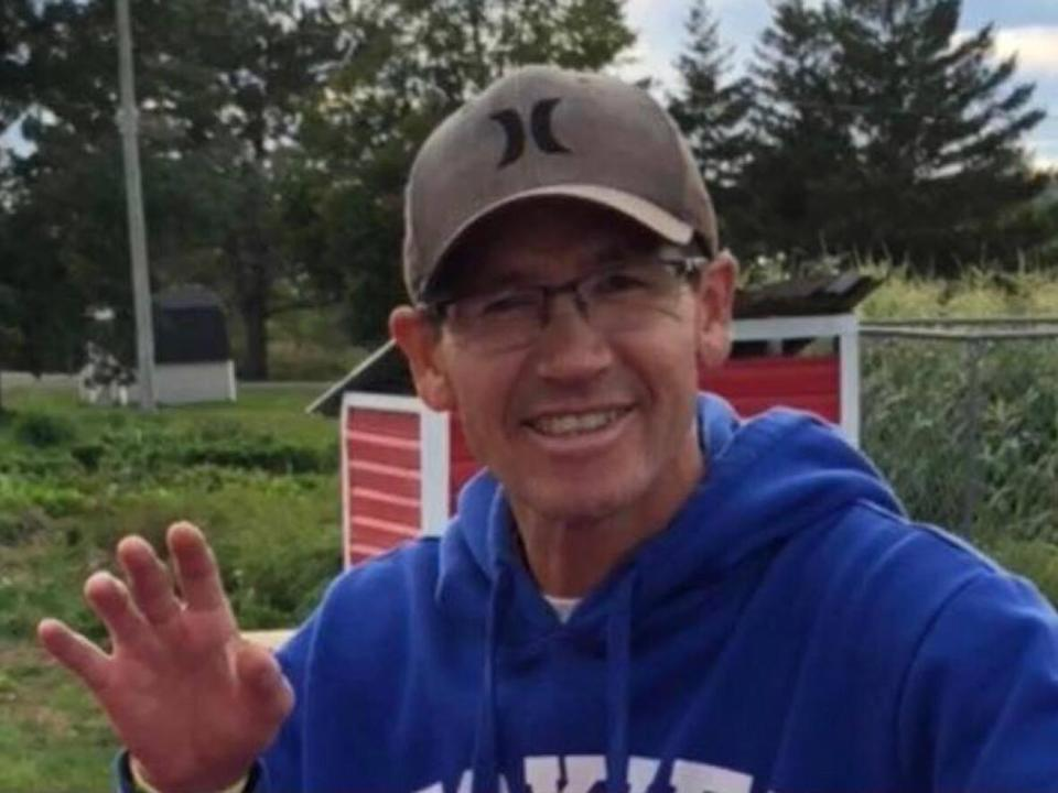 Rodney Levi, 48, was shot and killed by an RCMP officer on June 12, 2020, outside a home southwest of Miramichi.  (Submitted by Tara Louise Perley - image credit)