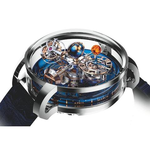 Van Cleef & Arpels' Midnight Planetarium watch