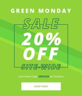 Shop Green Monday Deals