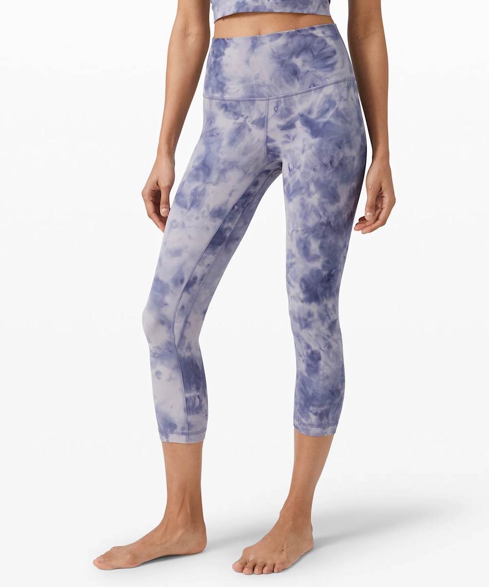 "<h3><a href=""https://shop.lululemon.com/search?Ntt=align"" rel=""nofollow noopener"" target=""_blank"" data-ylk=""slk:Lululemon Align Pant"" class=""link rapid-noclick-resp"">Lululemon Align Pant</a></h3><br>Thanks to an R29 reader for reminding us of the wonder that is <a href=""https://shop.lululemon.com/search?Ntt=align"" rel=""nofollow noopener"" target=""_blank"" data-ylk=""slk:Lulu's Align collection"" class=""link rapid-noclick-resp"">Lulu's Align collection</a>. There are several lengths and styles to choose from and this pair happens to be on sale. The Align collection is designed with four-way stretch and extra lycra so it feels almost like you're wearing nothing at all.<br><br><strong>lululemon</strong> Align Crop 21"", $, available at <a href=""https://go.skimresources.com/?id=30283X879131&url=https%3A%2F%2Fshop.lululemon.com%2Fp%2Fwomen-crops%2FAlign-Crop-21-Diamond-Dye-MD%2F_%2Fprod10030296"" rel=""nofollow noopener"" target=""_blank"" data-ylk=""slk:lululemon"" class=""link rapid-noclick-resp"">lululemon</a>"