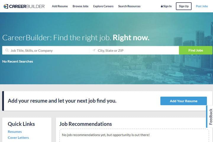 the best job search sites