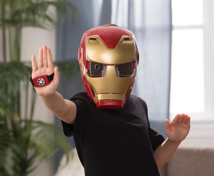 Not the author wearing the Iron Man Marvel Hero Vision set.
