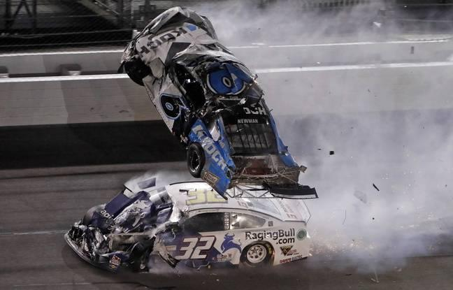 Le Daytona 500 s'achève par un terrible accident en fin de course