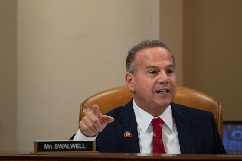 Representative David Cicilline, a Democrat from Rhode Island, speaks during a House Judiciary Committee hearing in Washington, D.C., U.S. December 12, 2019. Alex Edelman/Pool via REUTERS