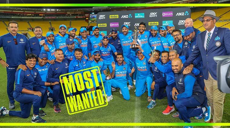 ind vs nz, india vs new zealand, india nz odi series, ind vz nz funny reaction, kerala police, new zealand police indian team post, kerala police india team most wanted post, viral news, funny news, indian express