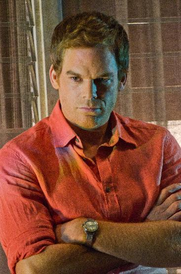 """FILE - In this publicity file image released by Showtime, Michael C. Hall portrays Dexter Morgan in a scene from """"Dexter."""" (AP Photo/Showtime, Randy Tepper, File)"""