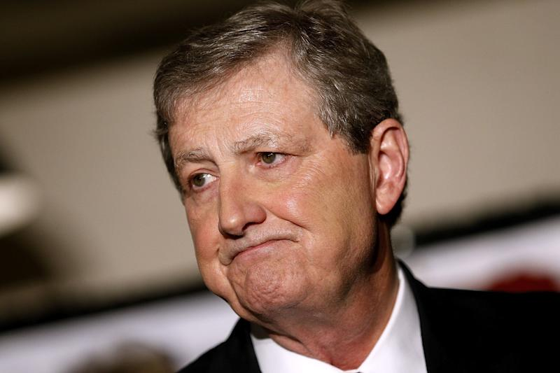 Sen. John Kennedy said states shouldn't be able to set up single-payer health care systems because he doesn't think people will like them. (Jonathan Bachman via Getty Images)