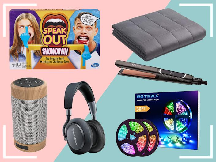 <p>Whether it's Bluetooth speakers or a weighted blanket, there's tons of hidden bargains here</p> (The Independent)