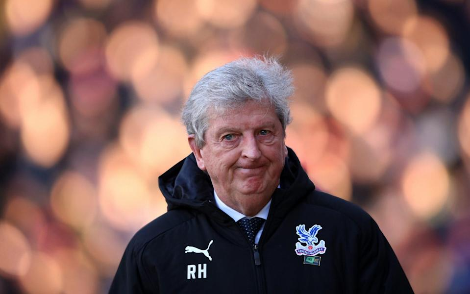 Manager Roy Hodgson To Leave Crystal Palace at End of Season LONDON, ENGLAND - FEBRUARY 01: Roy Hodgson, Manager of Crystal Palace looks on ahead of the Premier League match between Crystal Palace and Sheffield United at Selhurst Park on February 01, 2020 in London - Warren Little/Getty Images