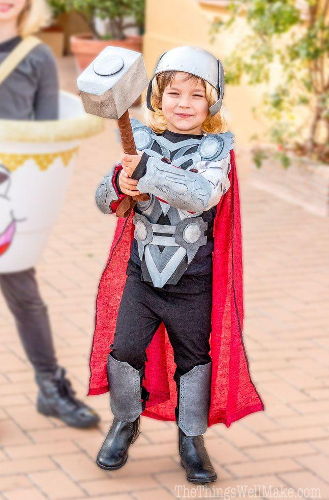 "<p>The god of thunder, lightning, and more gets to wield a hammer—only this one's made of floral foam, so your trick-or-treater won't get too tired.</p><p><strong>Get the tutorial at <a href=""https://thethingswellmake.com/diy-thor-costume/"" rel=""nofollow noopener"" target=""_blank"" data-ylk=""slk:Oh, the Things We'll Make"" class=""link rapid-noclick-resp"">Oh, the Things We'll Make</a>.</strong></p><p><strong><a class=""link rapid-noclick-resp"" href=""https://www.amazon.com/Nu-Source-Inc-100-ACRYLIC-FELT-1281/dp/B001THXM6C?tag=syn-yahoo-20&ascsubtag=%5Bartid%7C10050.g.21345654%5Bsrc%7Cyahoo-us"" rel=""nofollow noopener"" target=""_blank"" data-ylk=""slk:SHOP FELT"">SHOP FELT</a></strong></p>"
